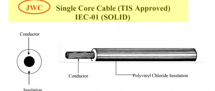 Single Core Cable (TIS Approved) IEC-01 (SOLID)