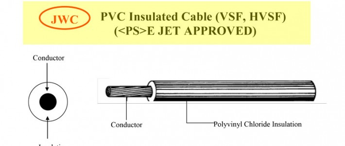 PVC Insulated Cable (VSF, HVSF) (E JET APPROVED)